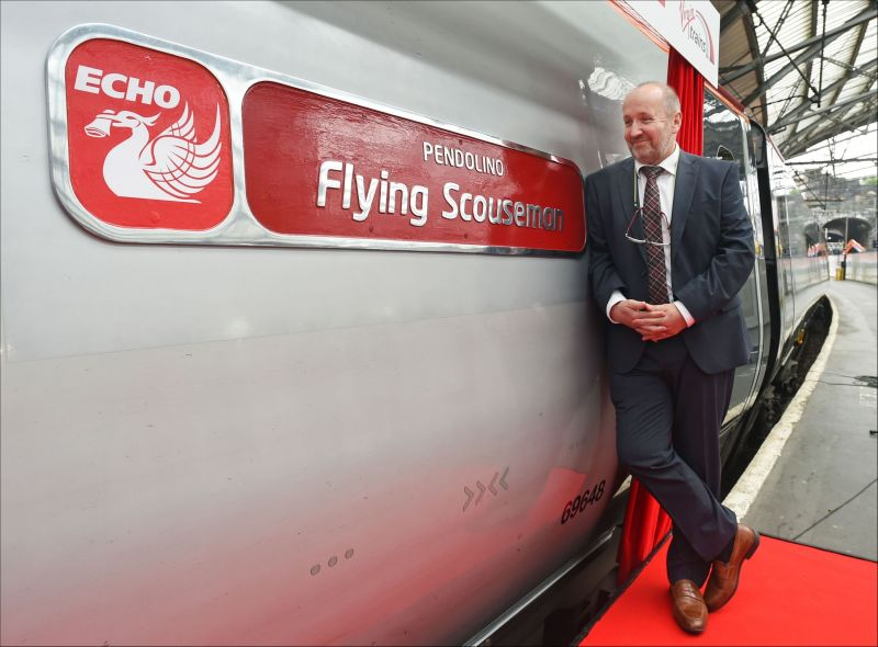 Flying Scouseman- Virgin Trains: Swipe To View More Images