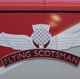Flying Scotsman Thistle and Wings - Virgin Trains: Click Here To View Larger Image