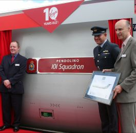 Pendolino 101 Squadron- Virgin Trains: Click Here To View Larger Image
